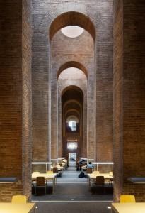 Biblioteca Dipòsit de les Aigües in Barcelona (1999), ontwerp Clotet & Paricio
