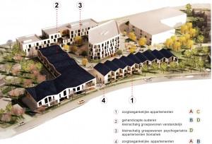 2by4 architects_Eltheto Rijssen, overzicht vier gebouwen