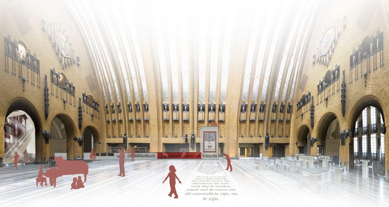 Zecc ontwerpt interieur bibliotheek utrecht for Interieur utrecht