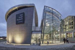 Van Gogh museum Amsterdam entreegebouw _Hans van Heeswijk Architects. Foto Ronald Tilleman