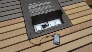 Oplaadplek voor mobiele telefoons