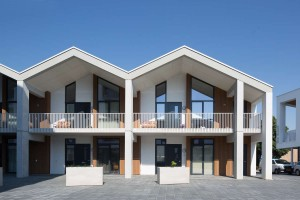 Woonzorgplein Eltheto in Rijssen 2by4 architects - appartementen Het Landvast