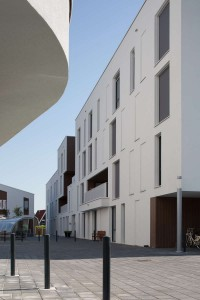 Woonzorgplein Eltheto in Rijssen 2by4 architects - verpleeghuis  Eltheto pleinzijde