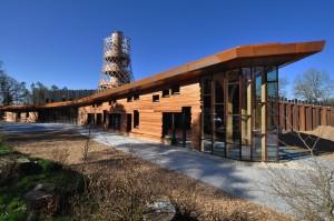 Het duurzaamheidscentrum in Assen • Foto Boris Zeisser