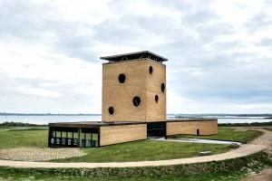 Het inspiratiecentrum Grevelingen op de Brouwersdam • Foto Adri Padmos.