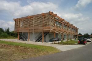 De Irenehof in Panningen staat nu nog solitair in de nieuw aan te leggen wijk Stox.
