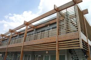 Detail balkon.