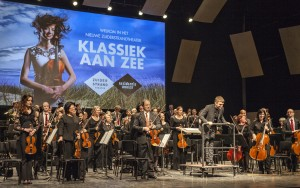 Eerste optreden van het Residentie Orkest tijdens de open dag in maart jongstleden. • Foto Pieter Musterd.