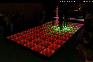 Sustainable Dancefloor, in opdracht van the Sustainable Danceclub, Rotterdam 2008, Daan Roosegaarde
