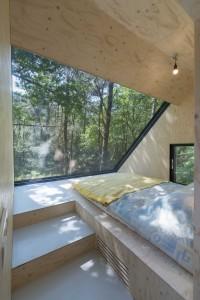 8. Boshuis Hengelo (Gld) slaapkamer in uitbreiding op het dak.