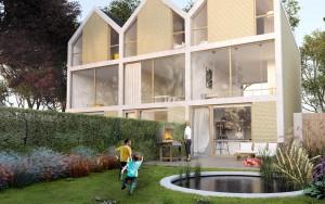 Woning aan de Vosdijk in Arnhem. Crowdfunding door Phoen'x