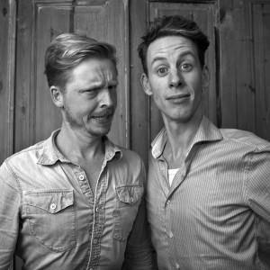 Hans Heetman en Jaap Patijn