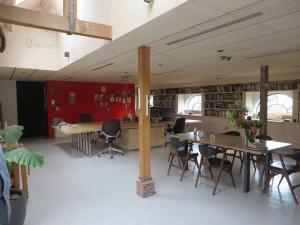 Het kantoor van Origins architecten in de voormalige koeschuur is geheel verduurzaamd.