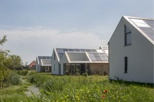 Nulenergiewoningen 't Zoutelande Den Hoorn Texel - ANA architecten - foto Luuk Kramer