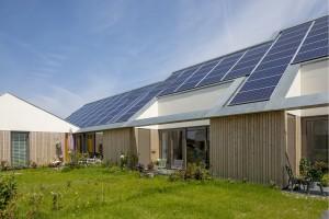 Nulenergiewoningen woonkamer 't Zoutelande Den Hoorn Texel - ANA architecten - foto Luuk Kramer