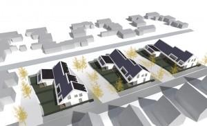 Nulenergiewoningen Zoutelande Den Hoorn Texel - ANA architecten - overzicht