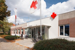 Het Rode Kruisgebouw na de renovatie