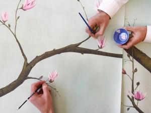 Snijder&Co is specialist in handgeschilderd en digitaal behang en textieldessins