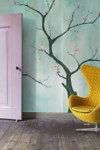 Snijder&Co is specialist in handgeschilderd en digitaal behang en textieldessins en werkt met regelmaat met Braziliaanse architecten aan gezamenlijke opdrachten