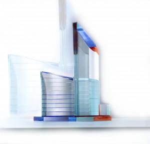 Seubring maakte voor Rem Koolhaas een maquette van kristalglas
