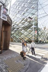 Prada winkel in Omotesando Tokyo Ontwerp Herzog & Meuron
