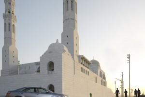 Al amin Moskee in Muscat, Oman. Ontwerp Quad Design