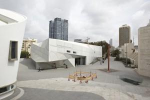 Museum of Modern Art tel Aviv, ontwerp Preston Scott Cohen ism Amit Nemelich