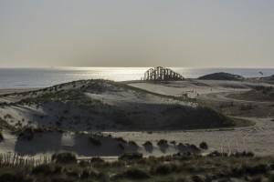 De Zandwacht is deze zomer opgeleverd op het uiterste puntje van de tweede Maasvlakte  Foto: Freek van Arkel