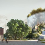 Collectiegebouw Museumpark door MVRDV