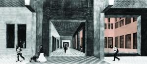 13 Donna van Milligen Bielke - afsudeerontwerp voor nieuw stadhuis en opera: Reversed Boogie Woogie - Amsterdam openbare route