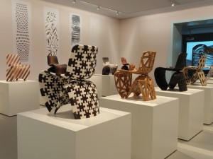 Joris Laarman Makerchairs. Foto Jacqueline Knudsen