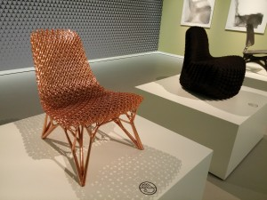 Joris Laarman Gradient chairs. Foto Jacqueline Knudsen