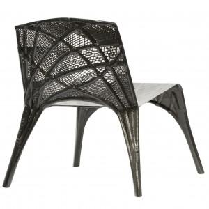 De koolstofstoel van Marleen Kaptein voor Label/Breed (2014) • Foto Studio Aandacht.