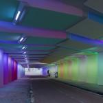 Zutphen spoortunnel lichtkunst Herman Kuijer