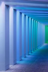 Zutphen NL Lichtkunstwerken in twee spoortunnels Herman Kuijer 2015