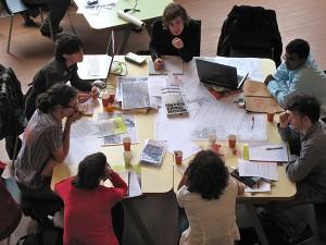 Studenten Rotterdamse Academie van Bouwkunst