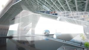 Floating Games Amsterdam 2028 OeverZaaijer architecture urbanism