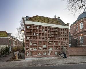 Dubbeltjespanden, Amsterdam (2012), kunstwerk: Marjet Wessels Boer • Foto Hans Peter Föllmi.
