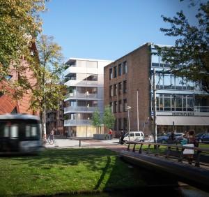 Woningbouw, Mauritsplaats Rotterdam, architect: Powerhouse Company