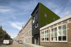 De Zwarte Parel, Rotterdam 2010. Ontwerp Studio  Rolf.fr ism ecc architecten. Foto Hans van Heeswijk