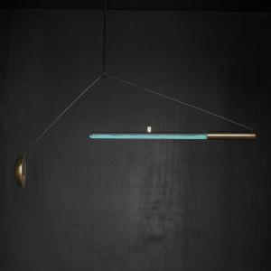 Ambio, een lamp gebaseerd op lichtgevende bacteriën, Teresa van Dongen.