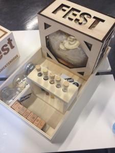 Fungi Fest, een doe-het-zelf-kit om paddenstoelen te kweken voor kleurpigmenten, Tessa Kuipers.