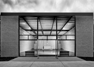 Robert Carr Memorial Chapel of St Savior, 1952,  Mies van der Rohe