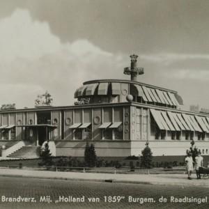 Sybold van Ravesteyn ontwierp het gebouw in 1939 als kantoor voor verzekeringsmaatschappij De Holland