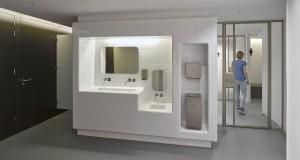 Nieuw sanitair in het souterrain