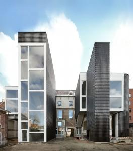 Renovatie stadskantoor Ledeberg, Gent (2012-2015) Architect: De Vylder Vinck Taillieu. Foto: Filip Dujardin