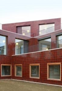 Ouderenhuisvesting Nevele (2012) Architect: 51N4E Foto: Filip Dujardin