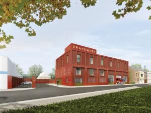 Brandweerkazerne Wilrijk, Antwerpen (2014-) Architect: Happel Cornelisse Verhoeven