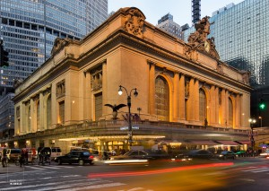 Exterieur van Grand Central Terminal in New York