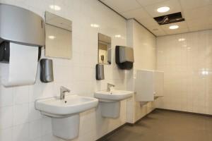 Hergebruikt sanitair in Alliander Duiven